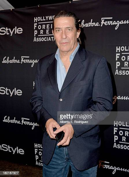 Actor Ciaran Hinds arrives at the TIFF HFPA / InStyle Party during the 2013 Toronto International Film Festival at Windsor Arms Hotel on September 9...