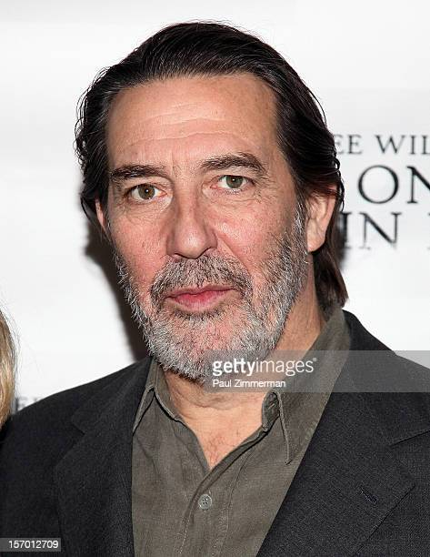 """Actor Ciaran Hinds attends """"Cat On A Hot Tin Roof"""" photo call at Sardi's Restaurant on November 27, 2012 in New York City."""