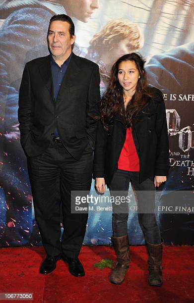 Actor Ciaran Hinds attends the World Premiere of Harry Potter And The Deathly Hallows: Part 1 at Odeon Leicester Square on November 11, 2010 in...