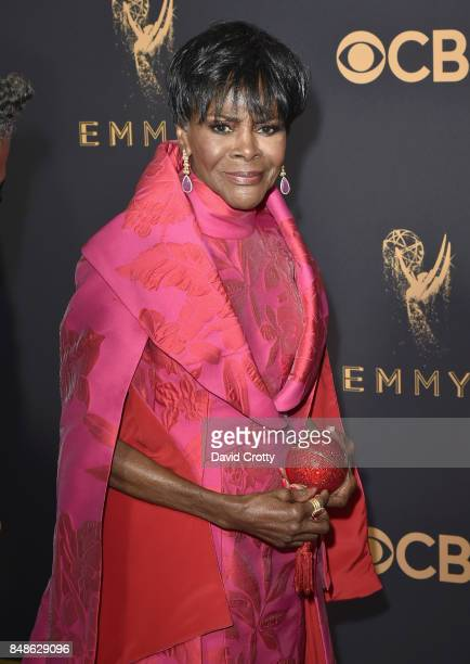 Actor Cicely Tyson attends the 69th Annual Primetime Emmy Awards at Microsoft Theater on September 17 2017 in Los Angeles California