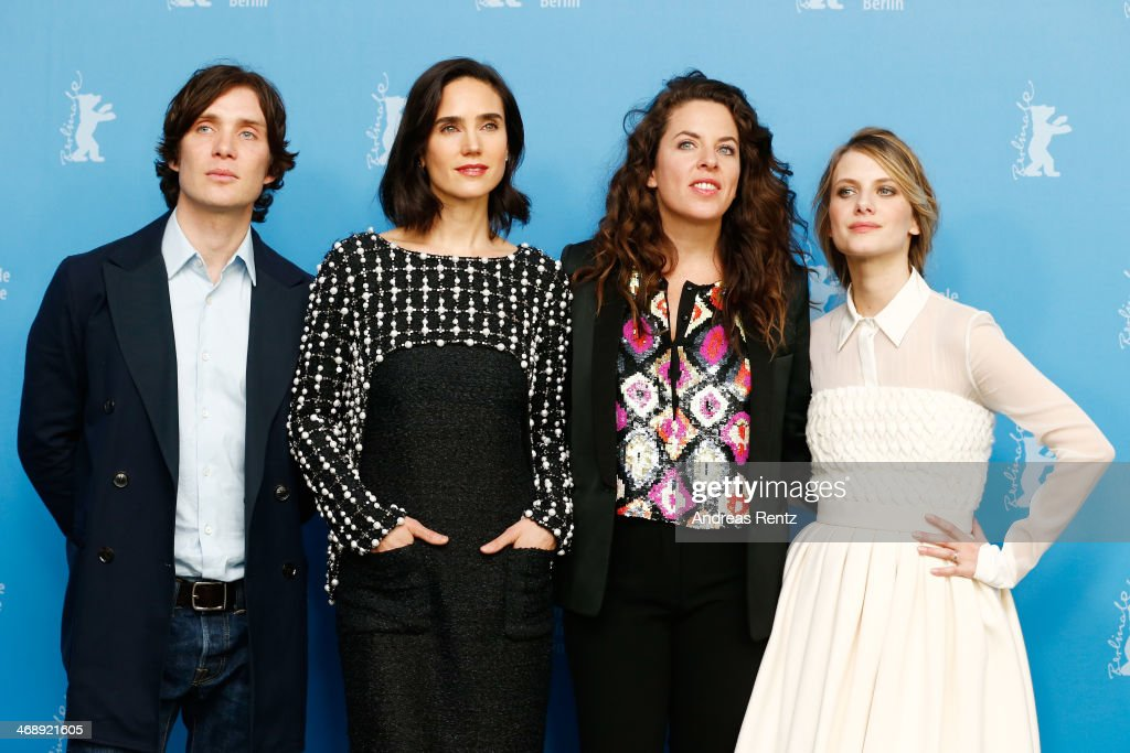 Actor Cillian Murphy, actress Jennifer Connelly, director Claudia Llosa and actress Melanie Laurent attend the 'Aloft' photocall during 64th Berlinale International Film Festival at Grand Hyatt Hotel on February 12, 2014 in Berlin, Germany.