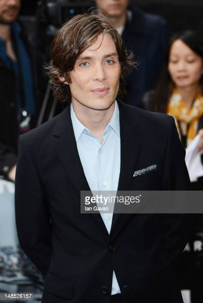 Actor Cillian Murphy attends European premiere of 'The Dark Knight Rises' at Odeon Leicester Square on July 18 2012 in London England