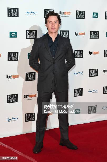 Actor Cillian Murphy attends the Birmingham Premiere of Peaky Blinders at cineworld on October 30 2017 in Birmingham England