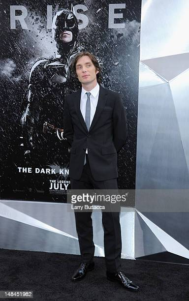 Actor Cillian Murphy attends The Dark Knight Rises premiere at AMC Lincoln Square Theater on July 16 2012 in New York City