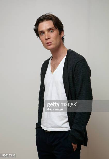 "Actor Cillian Murphy from the film ""Perrier's Bounty"" poses for a portrait during the 2009 Toronto International Film Festival at The Sutton Place..."