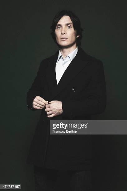 Actor Cillian Murphy is photographed for Self Assignment on February 12 2014 in Berlin Germany