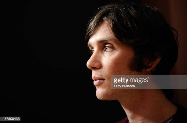 Actor Cillian Murphy poses for a portrait during the 2012 Sundance Film Festival at the Getty Images Portrait Studio at T-Mobile Village at the Lift...