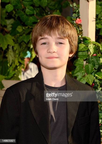 Actor CJ Adams arrives at Los Angeles premiere of 'The Odd Life Of Timothy Green' at the El Capitan Theatre on August 6 2012 in Hollywood California