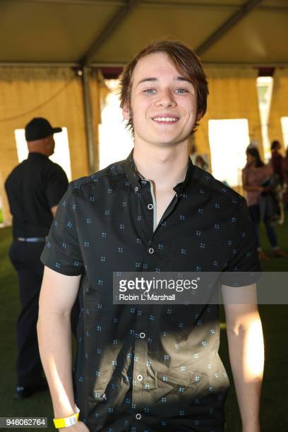 Actor CJ Valleroy attends the 12th Annual Santee High School Fashion Show at Los Angeles Trade Technical College on April 13 2018 in Los Angeles...