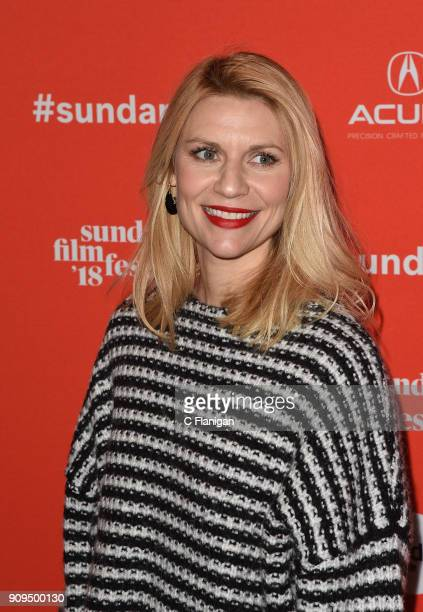 Actor Claire Danes attends the 'A Kid Like Jake' Premiere during the 2018 Sundance Film Festival at Eccles Center Theatre on January 23 2018 in Park...