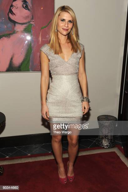 """Actor Claire Danes attends the after party for The Cinema Society with Screenvision & Brooks Brothers screening of """"Me And Orson Welles"""" at Gramercy..."""