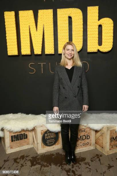 Actor Claire Danes of 'A Kid Like Jake' attends The IMDb Studio and The IMDb Show on Location at The Sundance Film Festival on January 21 2018 in...