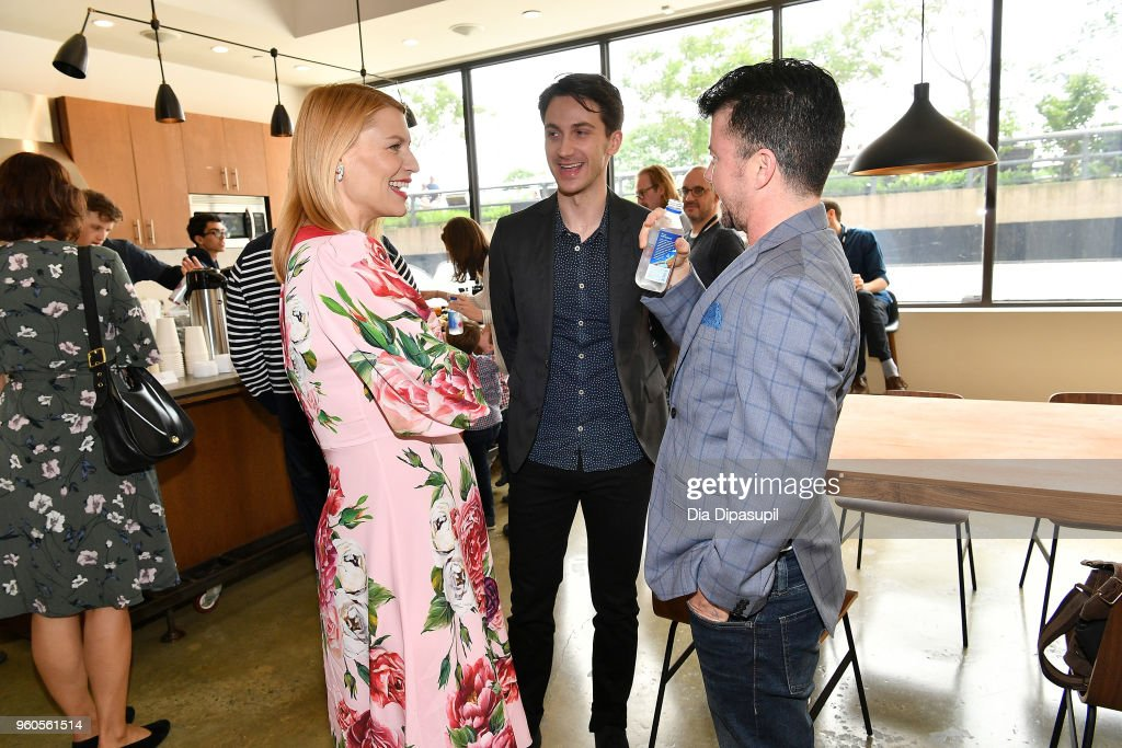 Actor Claire Danes, Writer Daniel Pearle, and Director Silas Howard of A Kid Like Jake attend Day Two of the Vulture Festival Presented By AT&T at Milk Studios on May 20, 2018 in New York City.