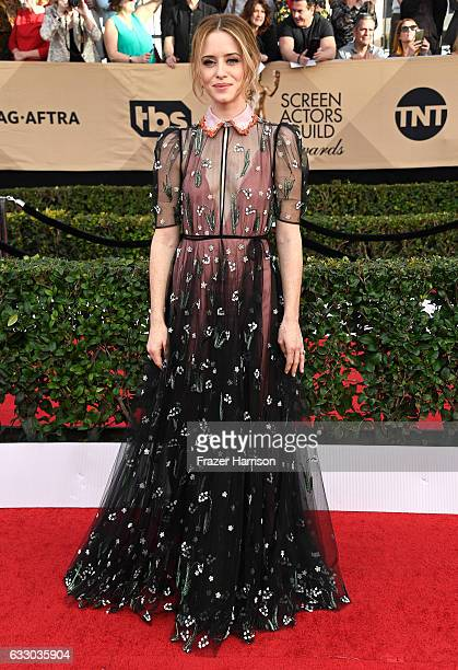 Actor Claire Foy attends The 23rd Annual Screen Actors Guild Awards at The Shrine Auditorium on January 29 2017 in Los Angeles California 26592_008