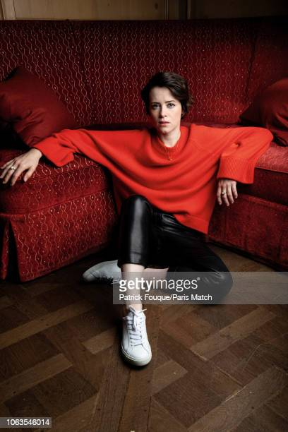Actor Claire Foy is photographed for Paris Match in Paris on October 31, 2018.