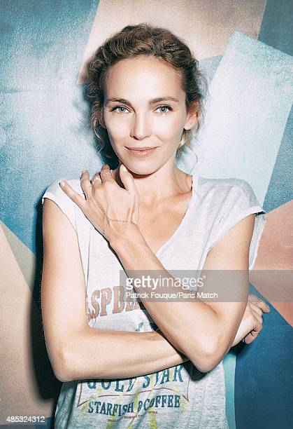 Actor Claire Keim is photographed for Paris Match on June 12 2014 in Paris France
