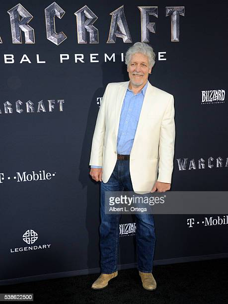 Actor Clancy Brown arrives for the Premiere Of Universal Pictures' 'Warcraft' held at TCL Chinese Theatre IMAX on June 6 2016 in Hollywood California