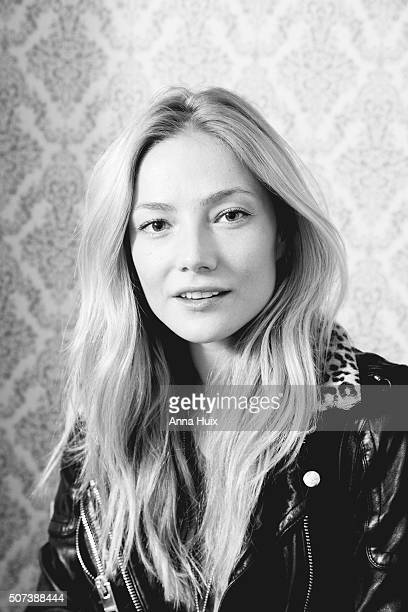 Actor Clara Paget is photographed for the Independent on October 28 2015 in London England