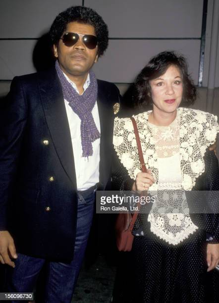 Actor Clarence Williams III and guest attend the 'Siesta' Culver City Premiere on October 29 1987 at Sony Pictures' Cary Grant Theatre in Culver City...