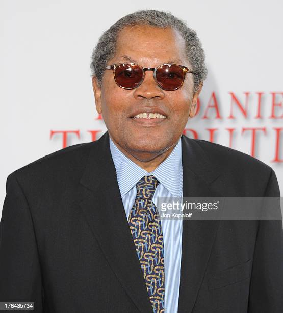 Actor Clarence Williams III arrives at the Los Angeles Premiere Lee Daniels' The Butler at Regal Cinemas LA Live on August 12 2013 in Los Angeles...