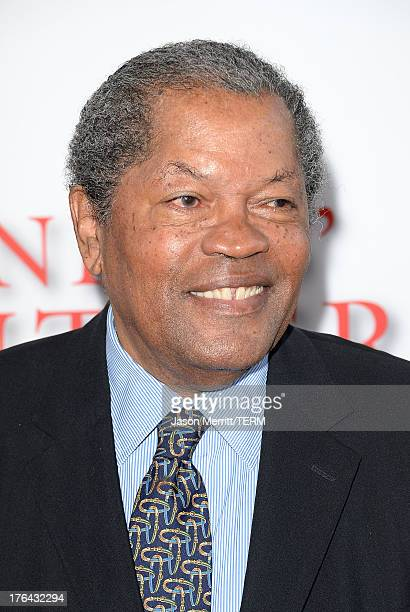 Actor Clarence Williams III arrives at the premiere of The Weinstein Company's Lee Daniels' The Butler at Regal Cinemas LA Live on August 12 2013 in...