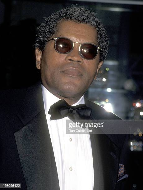 Actor Clarence Williams III attends the 46th Annual American Cinema Editors Eddie Awards on March 16 1996 at Beverly Hilton Hotel in Beverly Hills...