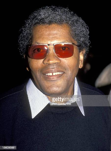 Actor Clarence Williams III attends the 'Against the Wall' West Hollywood Premiere on March 9 1994 at DGA Theatre in West Hollywood California