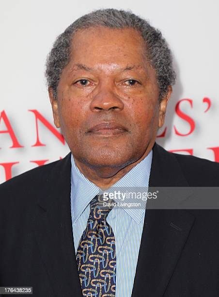 ACtor Clarence Williams III attends the premiere of the Weinstein Company's Lee Daniels' The Butler at Regal Cinemas LA Live on August 12 2013 in Los...