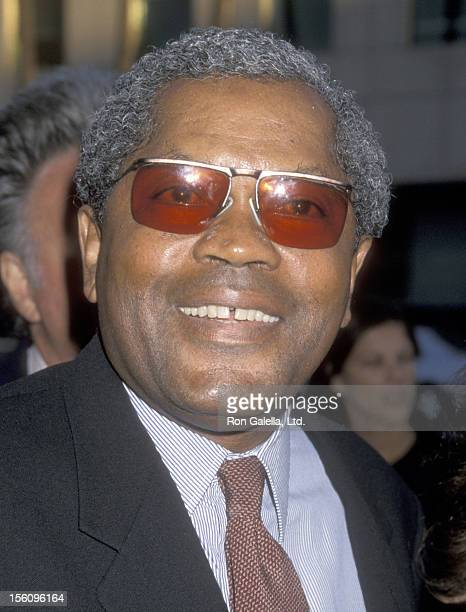 Actor Clarence Williams III attends 'The Tomas Crown Affair' Beverly Hills Premiere on July 27 1999 at Academy of Motion Picture Arts and Sciences in...