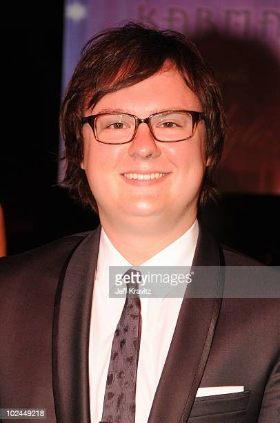 Actor Clark Duke arrives at the Hot Tub Time Machine Bluray and DVD launch party at the Kandyland V red carpet at the Playboy Mansion on June 26 2010...