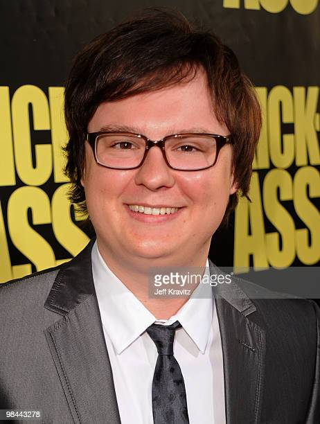 Actor Clark Duke arrives at the KickAss premiere held at ArcLight Hollywood on April 13 2010 in Hollywood California