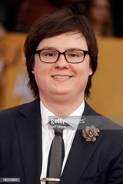 Actor Clark Duke arrives at the19th Annual Screen Actors Guild Awards held at The Shrine Auditorium on January 27 2013 in Los Angeles California