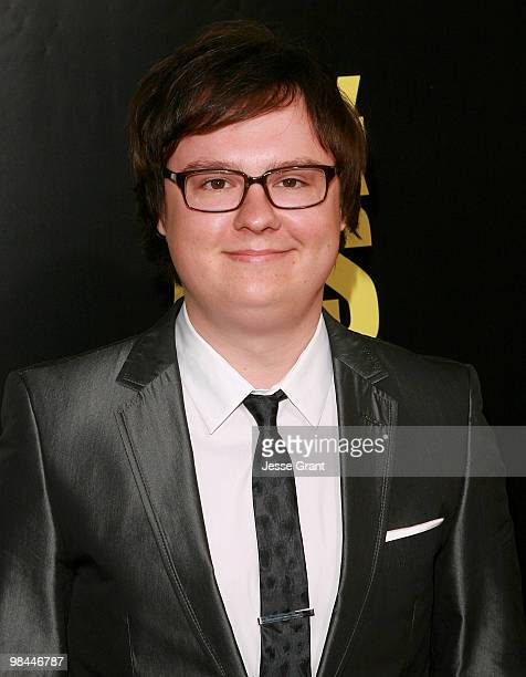 Actor Clark Duke arrives to the Los Angeles premiere of 'KICKASS' at the Cinerama Dome on April 13 2010 in Hollywood California
