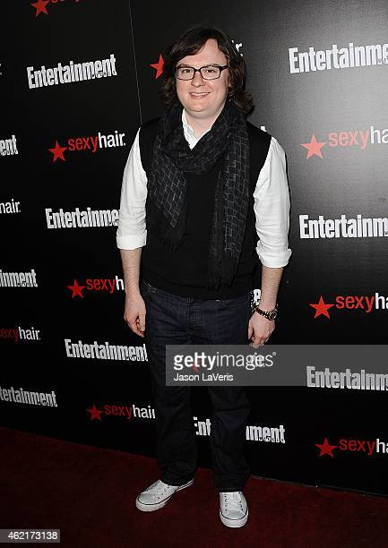 Actor Clark Duke attends the Entertainment Weekly celebration honoring nominees for the Screen Actors Guild Awards at Chateau Marmont on January 24...