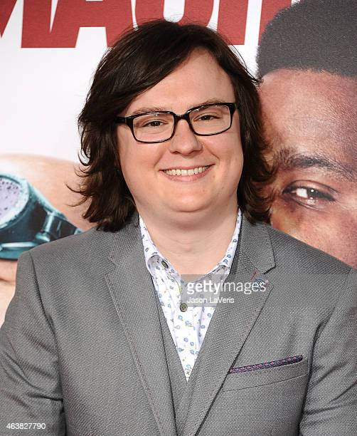 Actor Clark Duke attends the premiere of Hot Tub Time Machine 2 at Regency Village Theatre on February 18 2015 in Westwood California