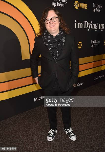 Actor Clark Duke attends the premiere of Showtime's I'm Dying Up Here at the DGA Theater on May 31 2017 in Los Angeles California