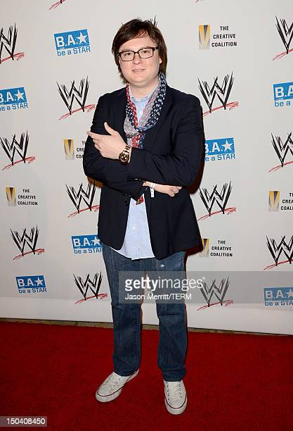 Actor Clark Duke attends the WWE SummerSlam VIP KickOff Party at Beverly Hills Hotel on August 16 2012 in Beverly Hills California