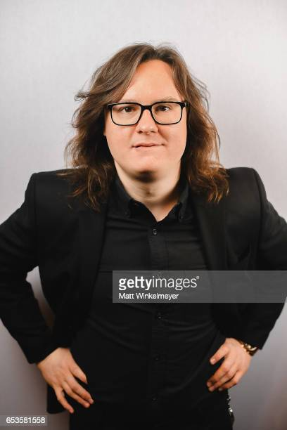 Actor Clark Duke poses for a portrait during the I'm Dying Up Here premiere 2017 SXSW Conference and Festivals on March 15 2017 in Austin Texas