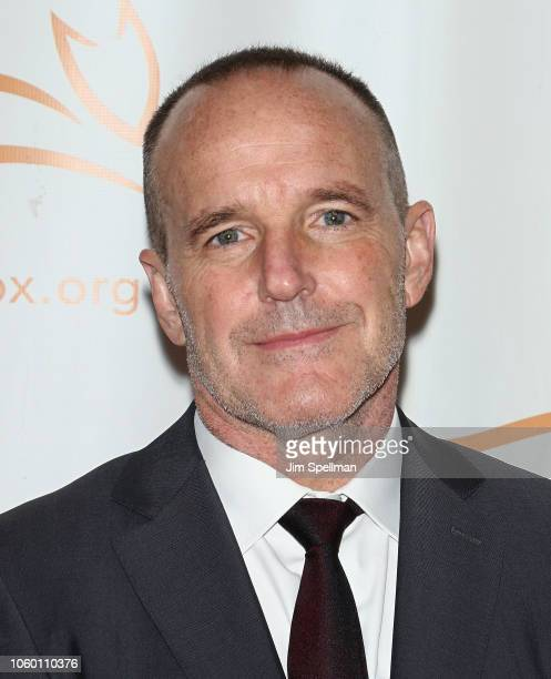Actor Clark Gregg attends A Funny Thing Happened on the Way to Cure Parkinson's 2018 at the Hilton New York on November 10 2018 in New York City
