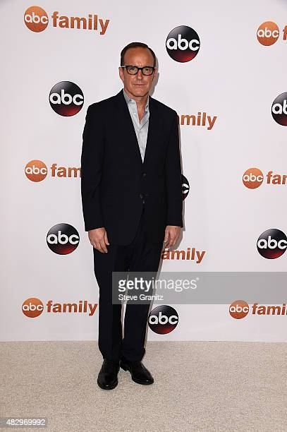 Actor Clark Gregg attends Disney ABC Television Group's 2015 TCA Summer Press Tour at the Beverly Hilton Hotel on August 4 2015 in Beverly Hills...
