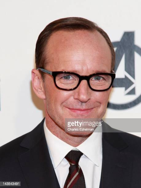 """Actor Clark Gregg attends """"Marvel's The Avengers"""" premiere during the closing night of the 2012 Tribeca Film Festival at BMCC Tribeca PAC on April..."""