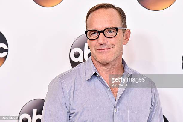 Actor Clark Gregg attends the Disney ABC Television Group TCA Summer Press Tour on August 4 2016 in Beverly Hills California