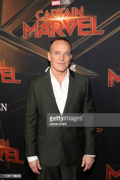 Actor Clark Gregg attends the Los Angeles World Premiere of Marvel Studios' Captain Marvel at Dolby Theatre on March 4 2019 in Hollywood California