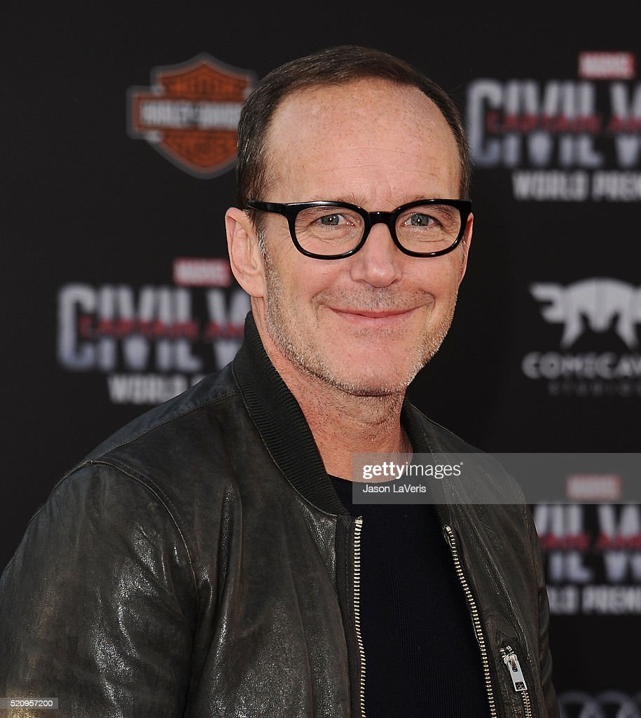 Actor Clark Gregg attends the premiere of 'Captain America: Civil War' at Dolby Theatre on April 12, 2016 in Hollywood, California.