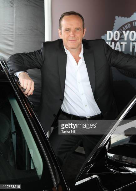 Actor Clark Gregg attends the SHIELD Agent Recruitment Center opening at Pier 83 on April 21 2011 in New York City