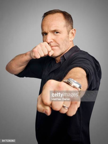 Actor Clark Gregg from 'Marvel's Agents of SHIELD' is photographed for Entertainment Weekly Magazine on July 23 2016 at Comic Con in the Hard Rock...