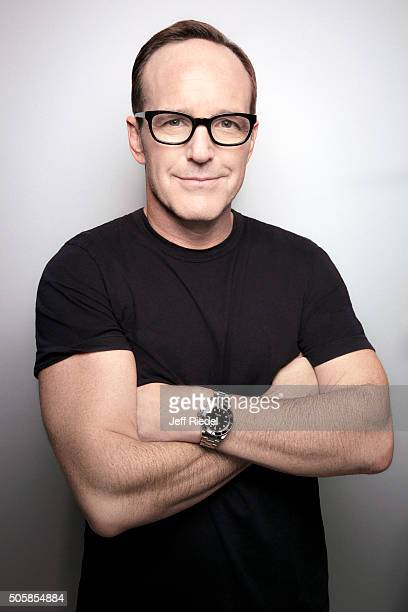 Actor Clark Gregg is photographed for TV Guide Magazine on January 14 2015 in Pasadena California