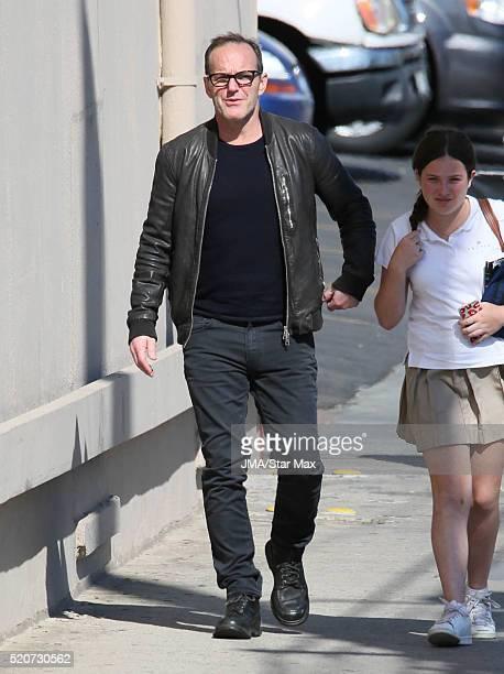 Actor Clark Gregg is seen on April 12 2016 in Los Angeles CA
