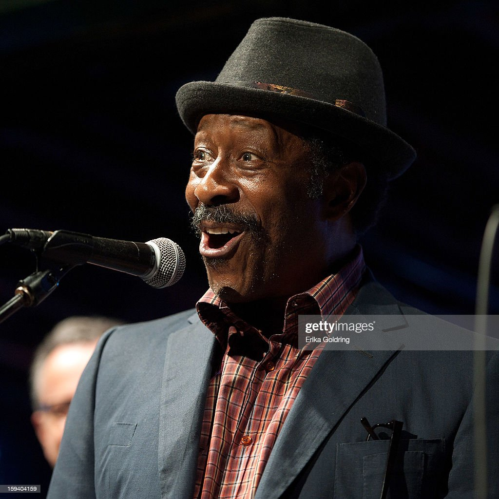 Actor Clarke Peters, Alfred 'Big Chief' Lambeaux on the HBO series Treme, performs during 'My Lil' Darlin': An HBO Treme All Star Revue' at Tipitina's on January 12, 2013 in New Orleans, Louisiana.