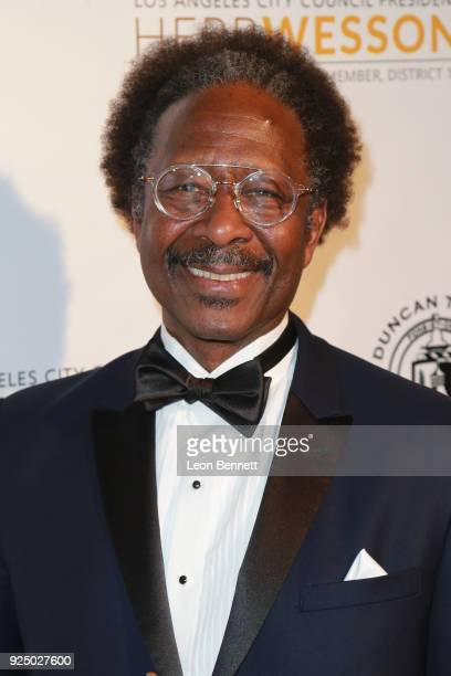 Actor Clarke Peters attends the 27th Annual NAACP Theatre Awards at Millennium Biltmore Hotel on February 26 2018 in Los Angeles California